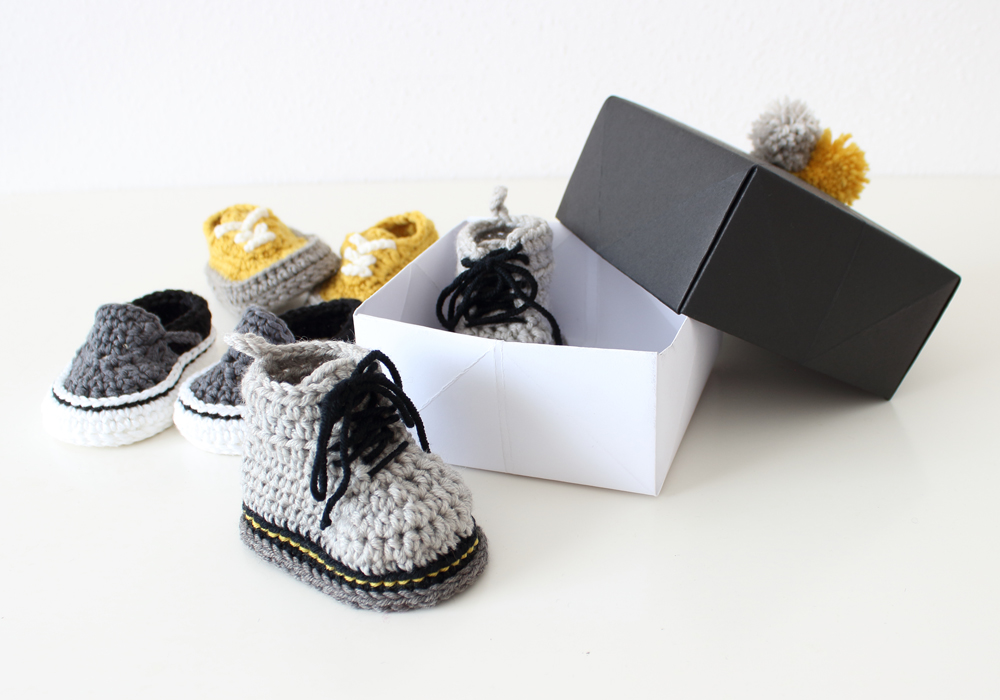 How To Make Your Own Gift Boxes For Your Crochet Projects