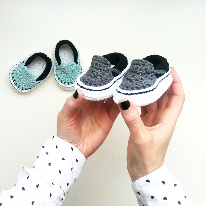 1f0ea51252 Vans style crochet sneakers for babies – ShowroomCrochet